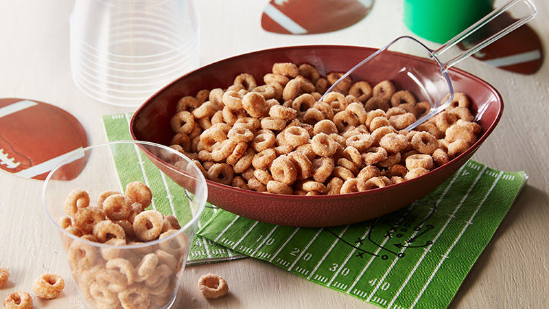 Mini Doughnut Hot Buttered Cheerios™ Game Mix