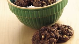 Chunky Chocolate Cookies