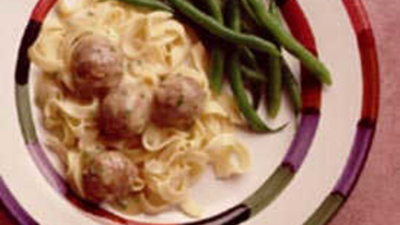 Meatballs in Dijon Sauce