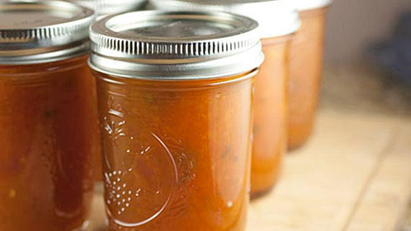 Jalapeño Peach Jam