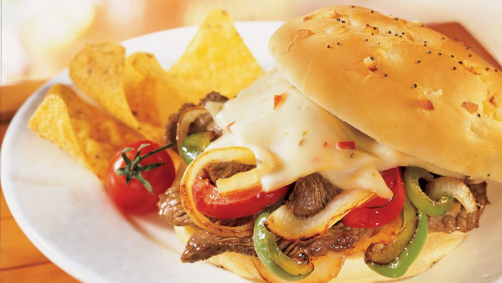 Southwestern Steak Sandwiches