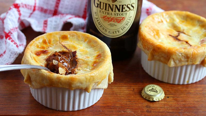 Petits pâtés au boeuf et à la GuinnessMC