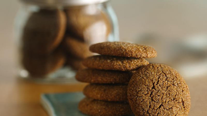 Best Ever Chewy Gingerbread Cookies