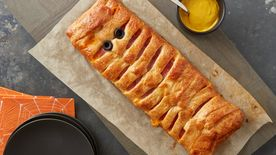 Ham and Cheese Crescent Mummy