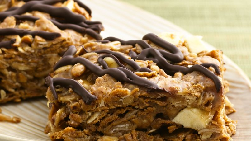 Apple-Cereal Breakfast Bars