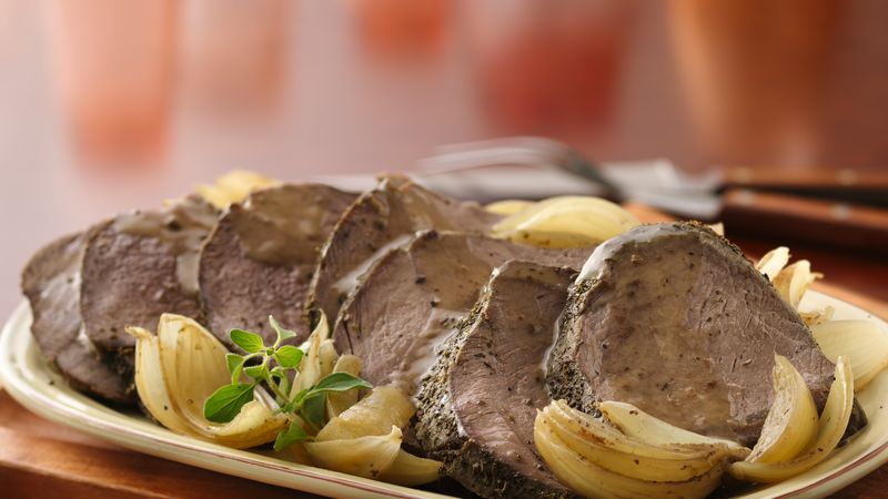 Onion and Oregano Beef Pot Roast