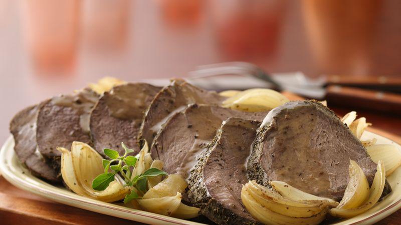 Onion and Oregano Beef Pot Roast