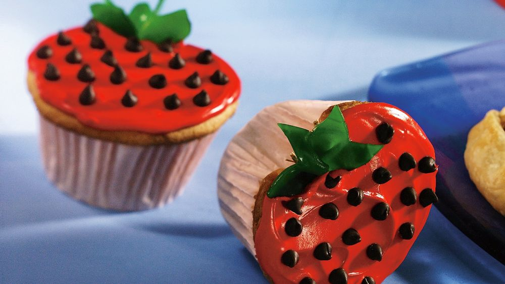 Cupcake Strawberries