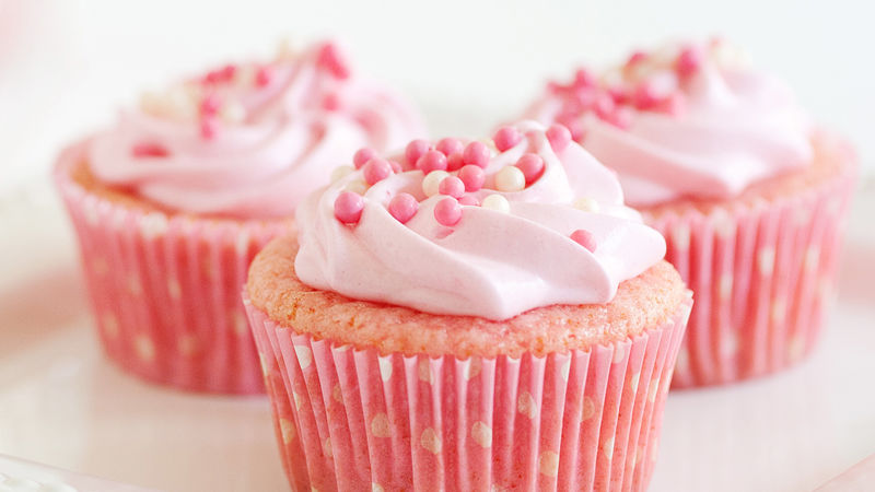 Pink Lemonade Cupcakes Recipe Bettycrocker Com