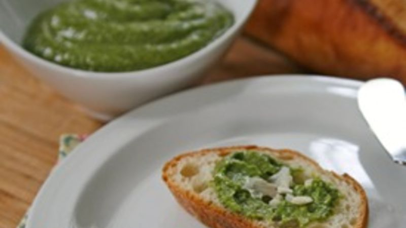 Pea and Basil Pesto Sauce