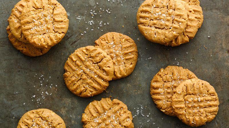 Grain Free Gluten-Free Peanut Butter Cookies
