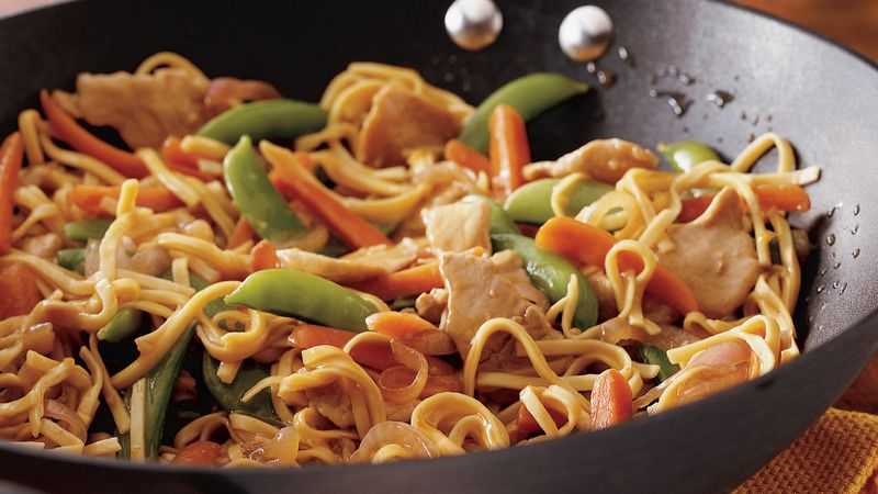 Pork lo mein recipe bettycrocker pork lo mein forumfinder Images
