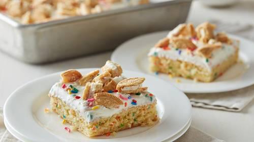 Groovy Birthday Dessert Recipes Bettycrocker Com Funny Birthday Cards Online Fluifree Goldxyz