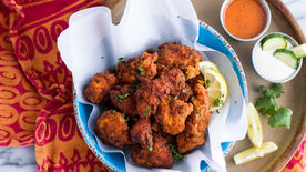 Zucchini-Crusted Buffalo Chicken Nuggets