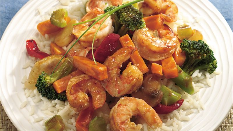 Shrimp with mixed vegetables | Crouching Tiger | John Lee ...  |Shrimp With Mixed Vegetables