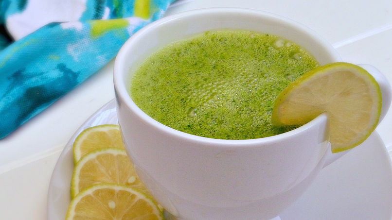 Green Tea Yogurt Smoothie