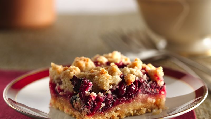 Cranberry Crumb Bars