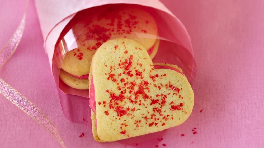 Heart Sandwich Cookies