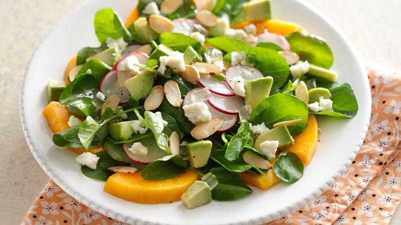 Papaya and Watercress Salad with Tequila Vinaigrette