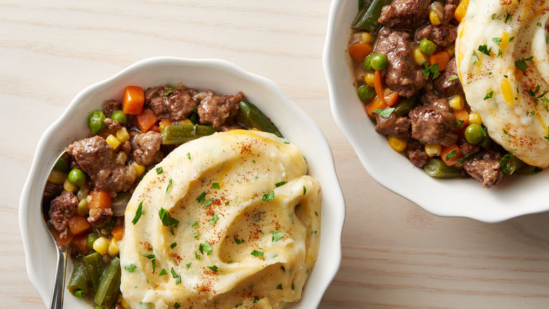 Easy Shepherd's Pie Bowls