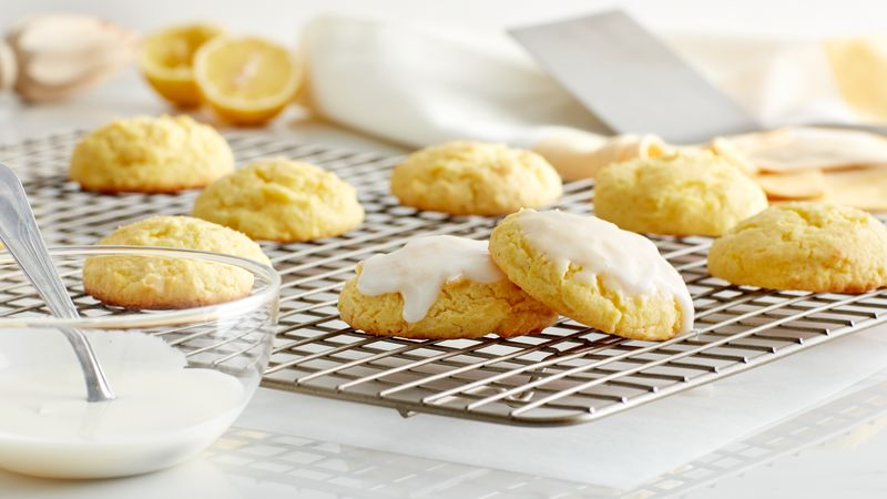 Cake Mix Gooey Butter Lemon Cookies