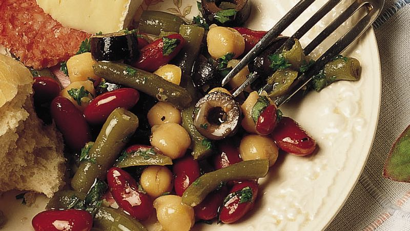 Easy Mixed-Bean Salad