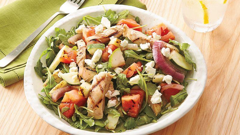 Chicken And Vegetable Salad Recipe Bettycrocker Com