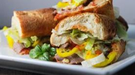 Toasted Roast Beef Sandwiches