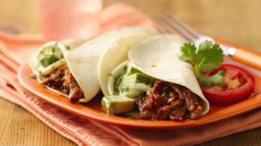 Slow-Cooker Shredded Pork Fajitas