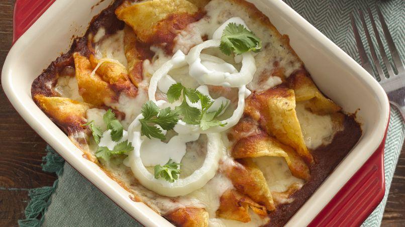 Receta de enchiladas rojas mexicanas for Cenas rapidas y economicas