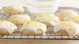 Lemon-Glazed Cream Cheese Cookies