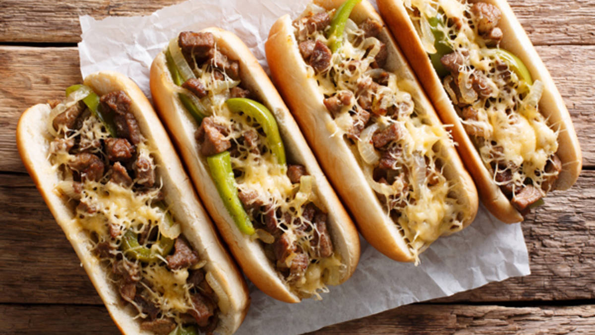 Slow Cooker Italian Shredded Beef Hoagies