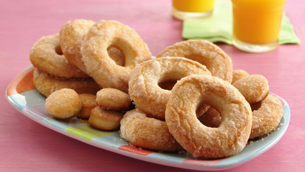 Baked Sugar Doughnuts recipe from Pillsbury.com