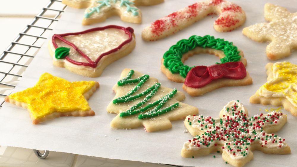 Rolled sugar cookie recipe margarine