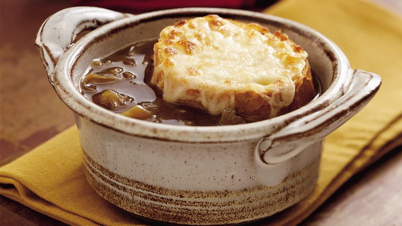 Country Kitchen French Onion Soup slow-cooker french onion soup recipe - bettycrocker