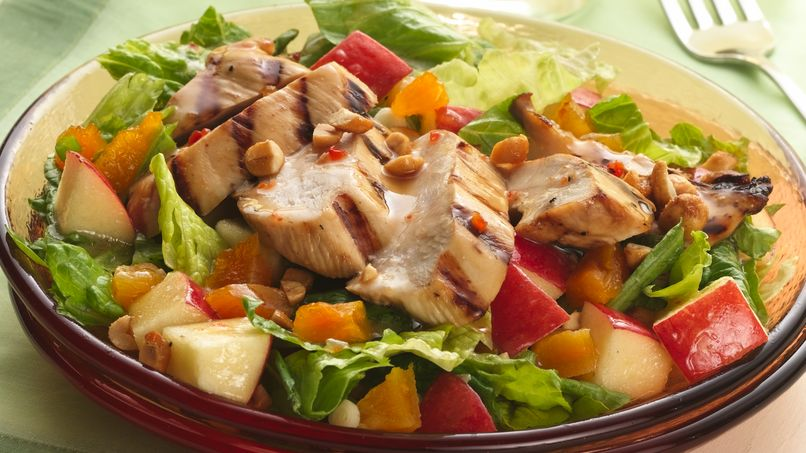 Grilled Chicken Citrus Salad