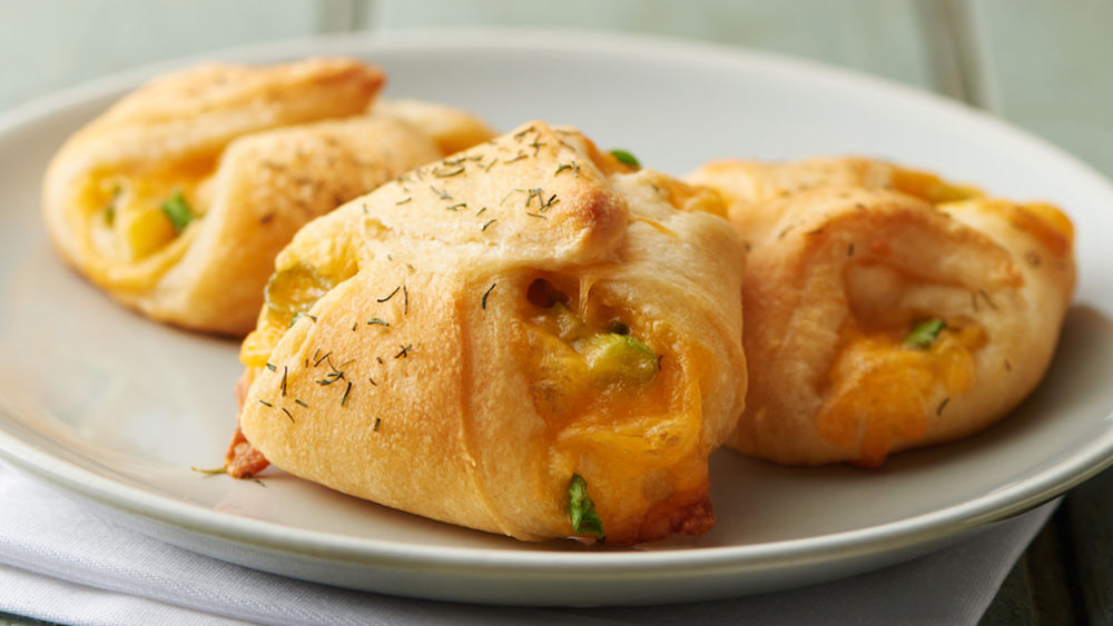Mini Herb Cheddar Pastries