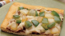 Philly Cheesesteak Crescent Pizza