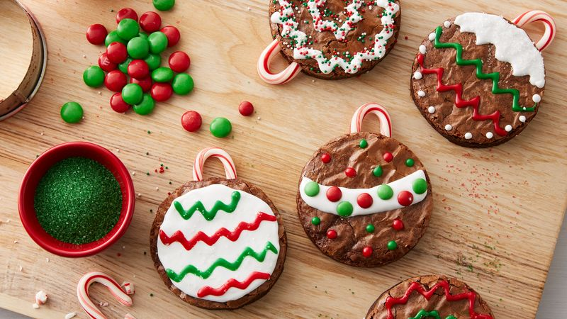 Easy Brownie Ornaments