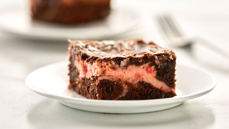 Maraschino Cherry Cream Cheese Brownies