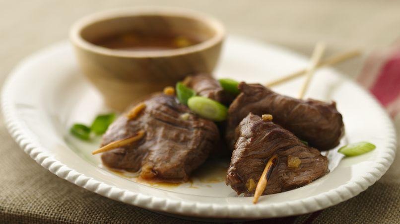 Alambres de Carne a la Coreana