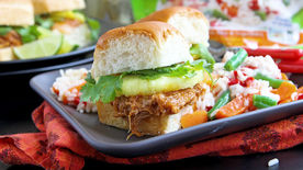 Slow-Cooker Sweet and Sour Pork Sliders