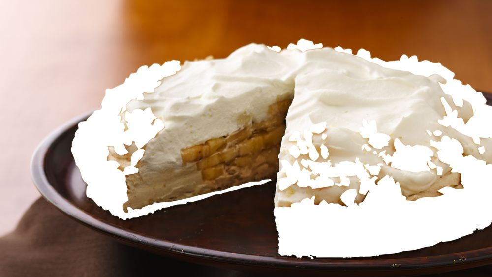 Banana-Peanut Butter Cream Tart