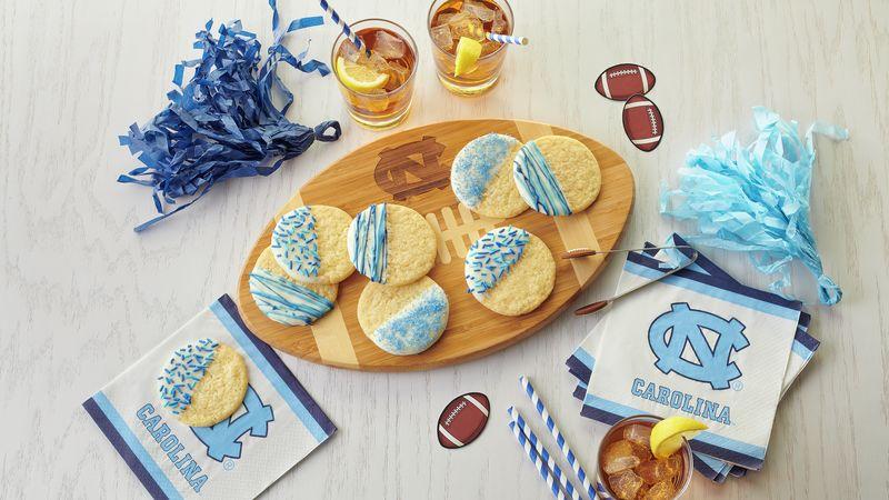 UNC Dipped Sugar Cookies