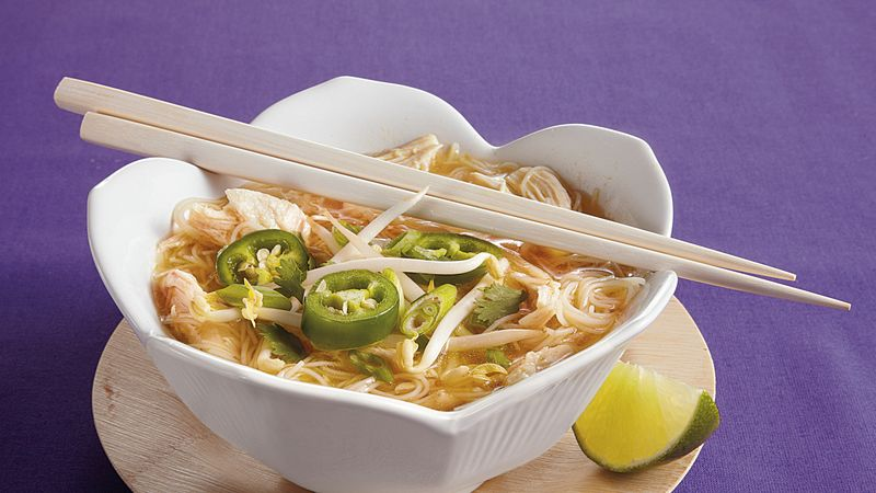 "Chicken ""Pho"" Noodle Soup"