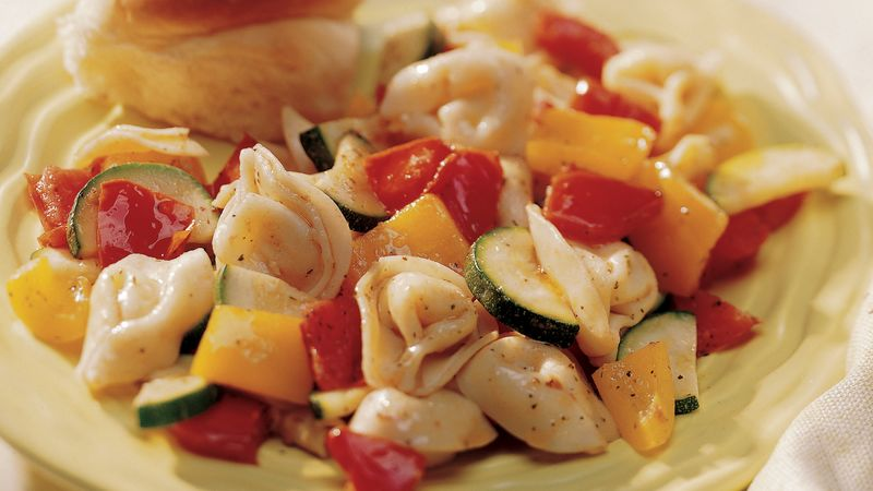 Tortellini with Fresh Vegetables