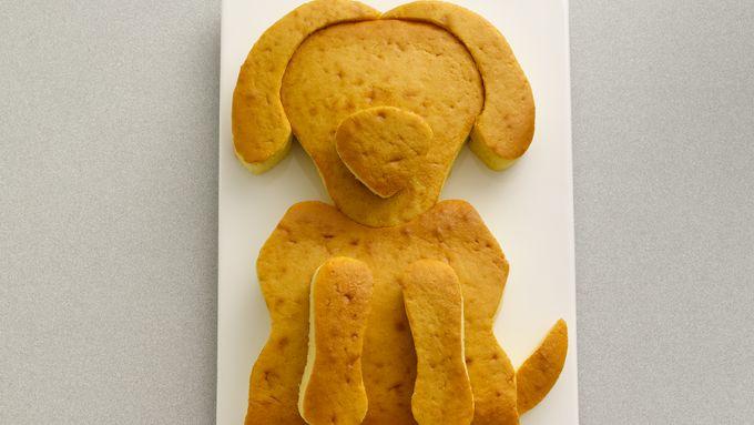 Cute Golden Doodle Dog Cake Recipe Bettycrocker Com