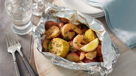 Low Country Shrimp Foil Packs