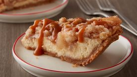 Sugar Cookie Apple Cheesecake Pie