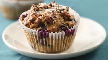 Blueberry and Oats Muffins